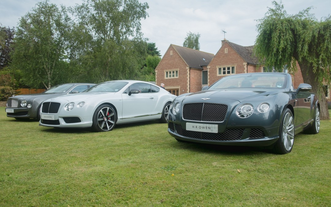 Naim Statement and H.R.Owen Bentley Cheltenham Summer Event at uhes