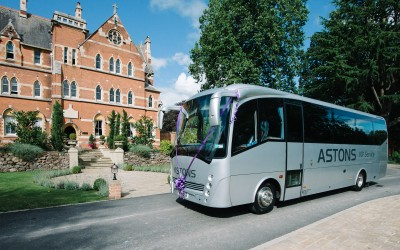 F8 Creates Launch new Website for Astons Coaches