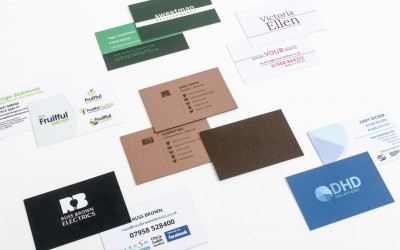 Make sure you're memorable with great business cards