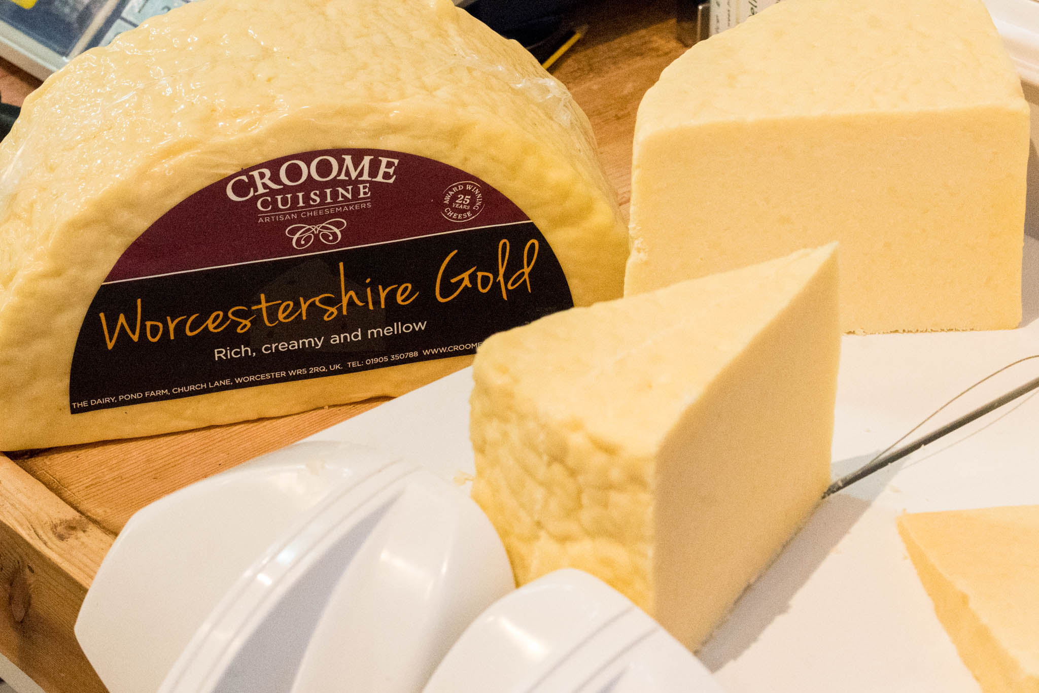 Croome Cuisine cheese