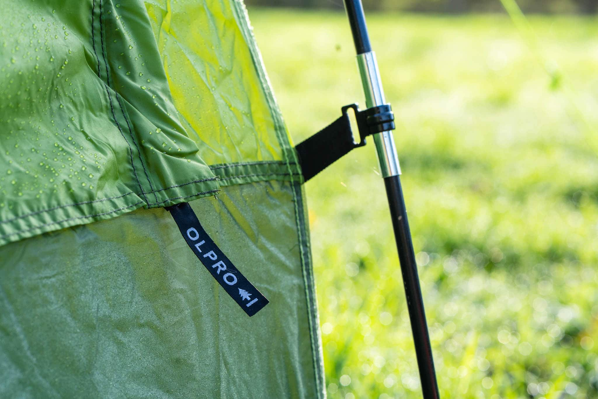 Olpro green tent