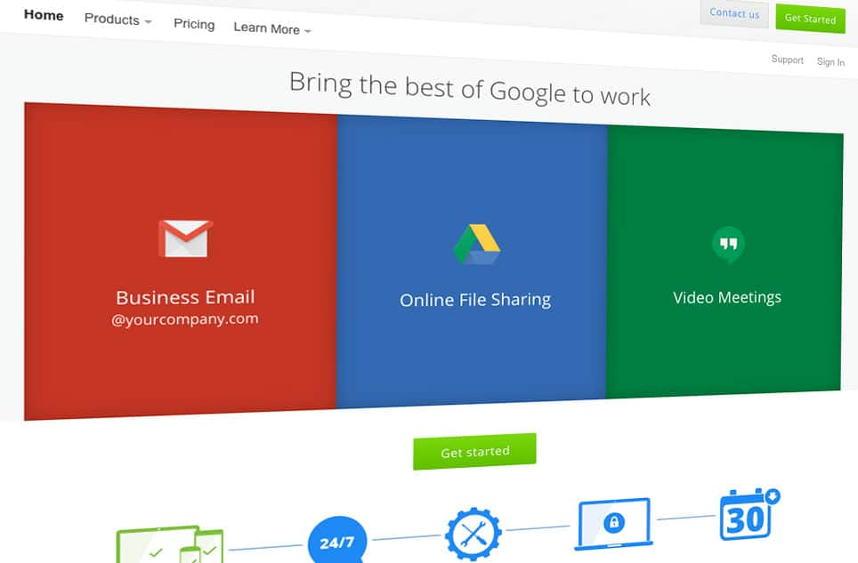 "F8 Recommend ""Google Apps for Work"" for your Business emails"
