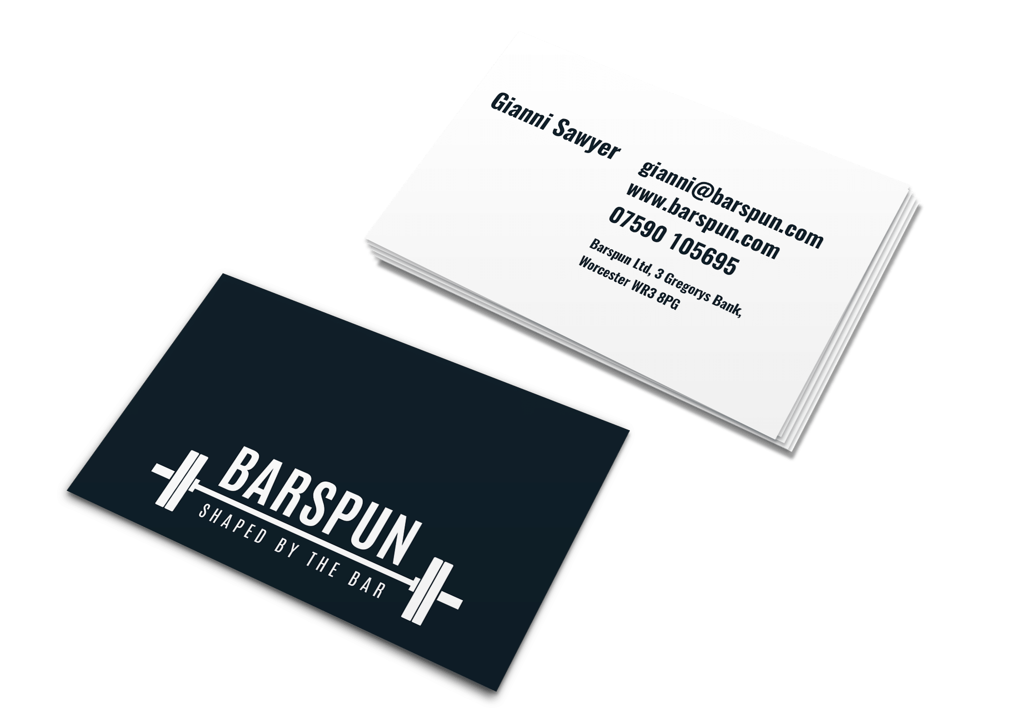 F8 business card design print services worcester barspun cards reheart