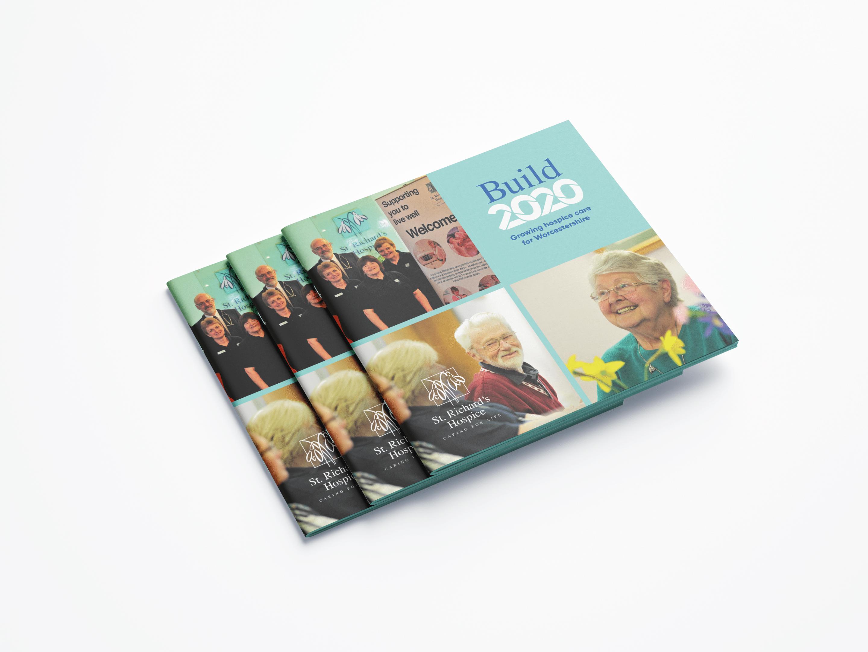 Build 2020 report brochure design