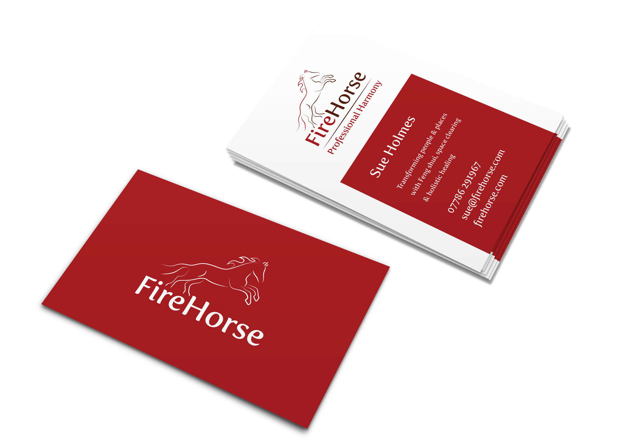 F8 business card design print services worcester firehorse cards reheart