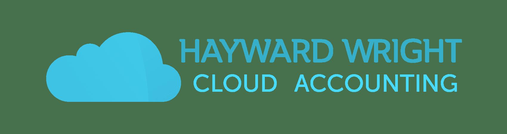 hayward wright cloud accounting blue logo