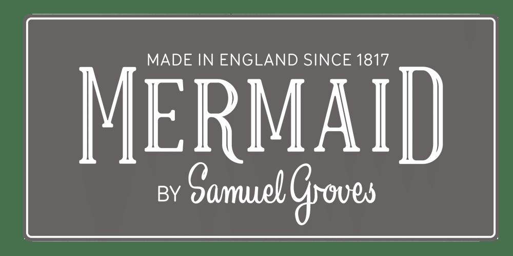 mermaid bakeware rebrand logos before and after