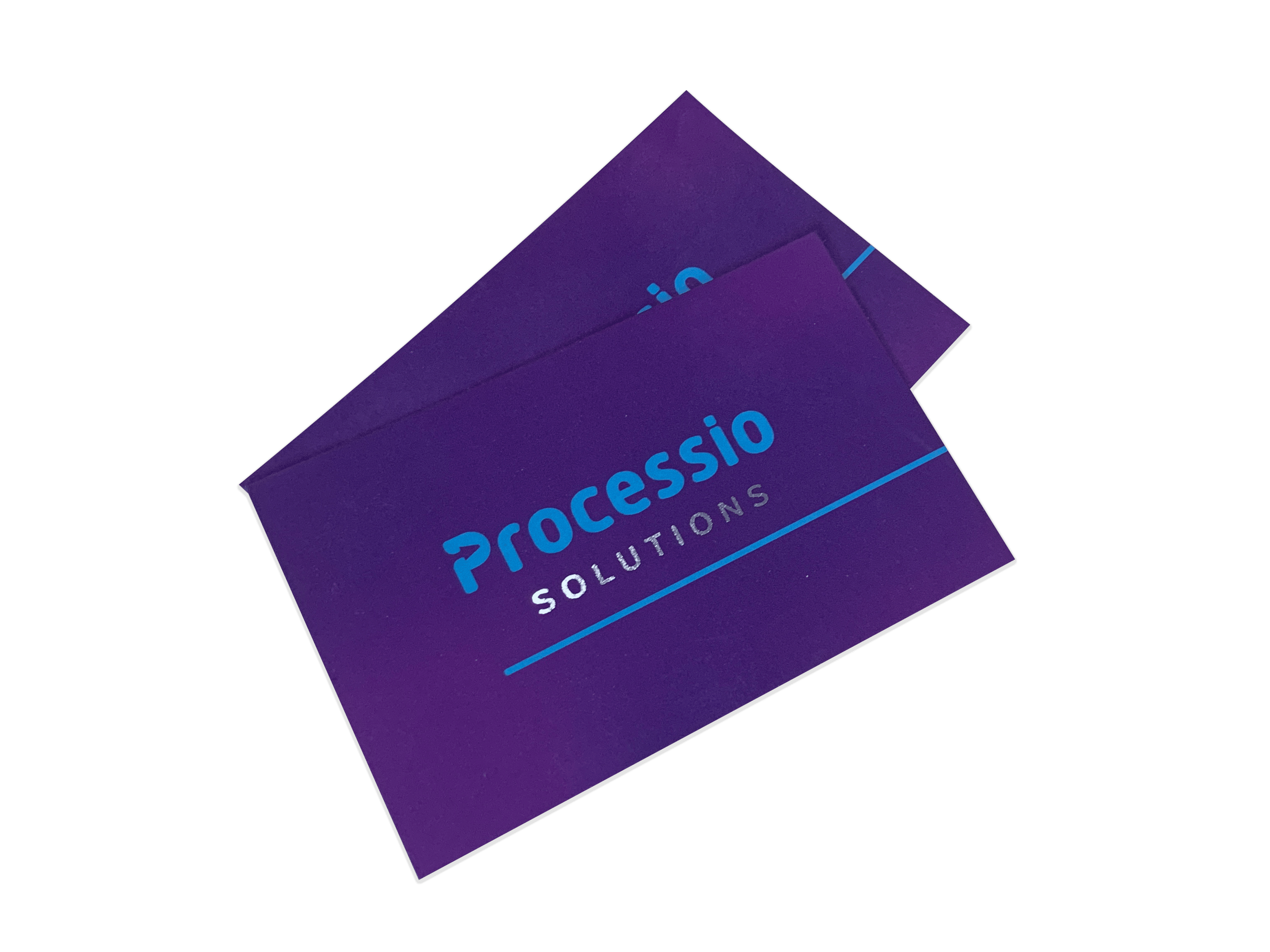Processio custom business cards