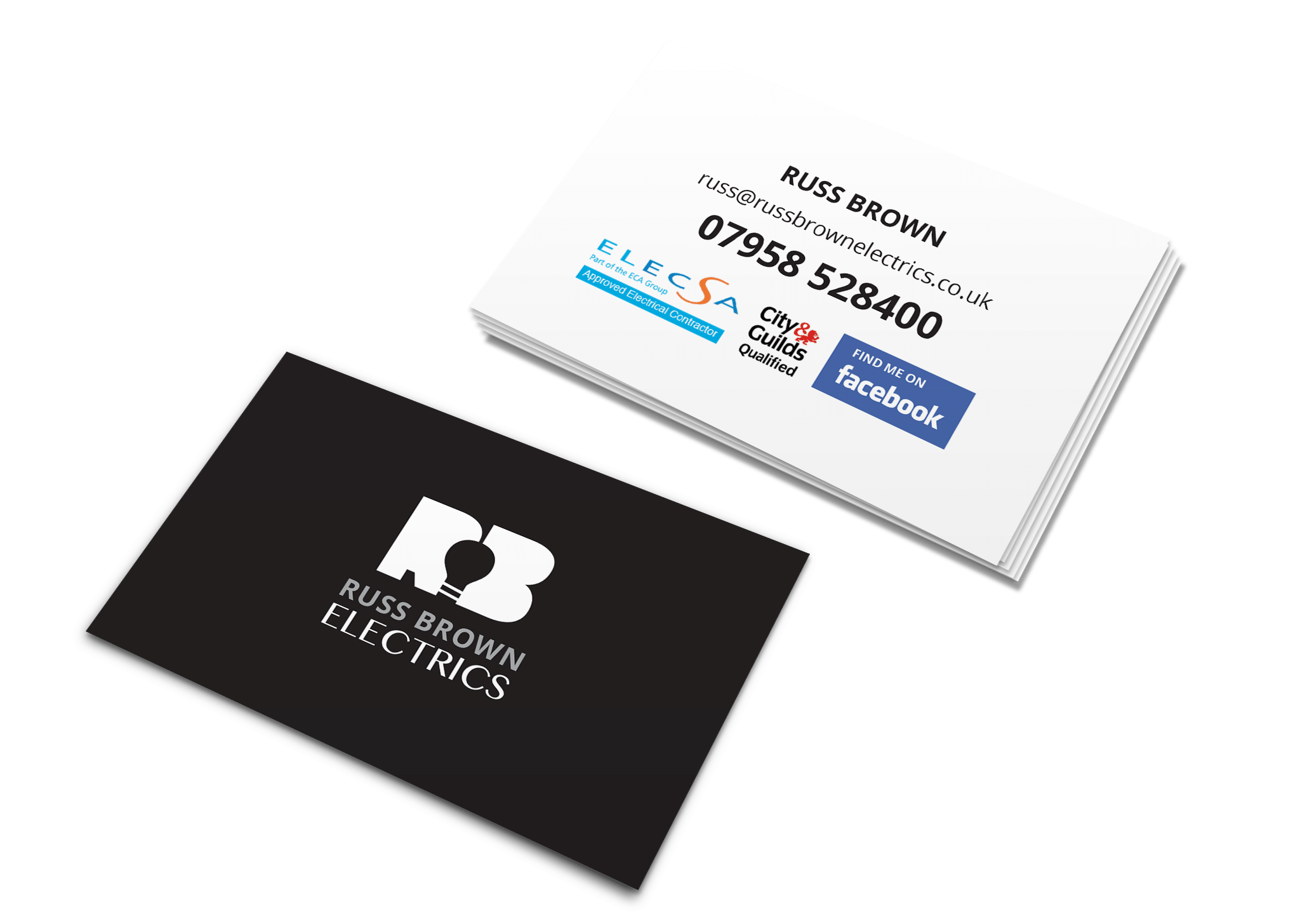 Facebook logo for business card unlimitedgamers f8 business card design print services worcester reheart Choice Image