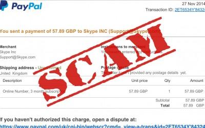 Heads up, suspicious scam emails are rife!